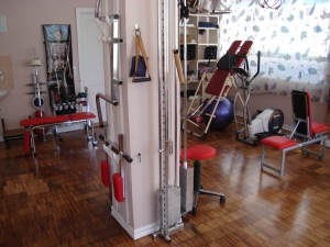 Fitness-studio,work-out-area